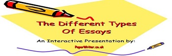Three Most Popular types of Essays
